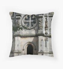 Rosslyn Chapel Throw Pillow
