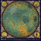 A Topographic Map of the Moon by Eleanor Lutz