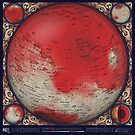 A Topographic Map of Mars by Eleanor Lutz