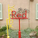 Sculpture Garden, Canyon Road, Santa Fe, New Mexico by lenspiro