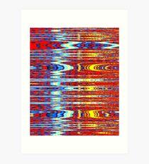 Bandwidth Art Print
