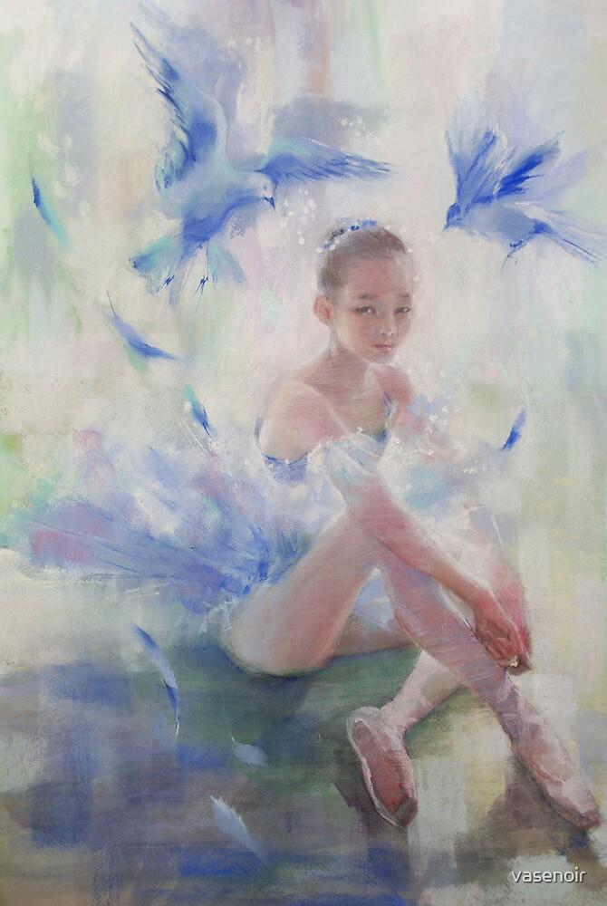 Blue bird by vasenoir