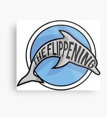 The Flippening Metal Print