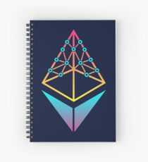 EthHub Logo Spiral Notebook