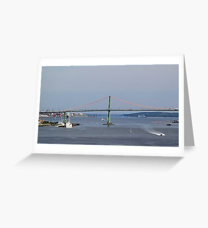 Harbour View-Halifax Greeting Card