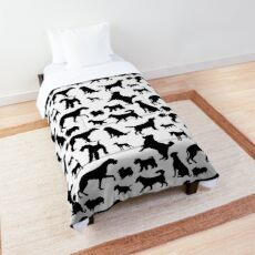 Dog Pattern | Puppy Pet Dog Owner Breed  Comforter