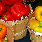 Farm Fresh Bell Peppers by Jason Pepe