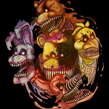 Five Nightmares of Freddy's by qlaxx