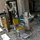 Dentist Chair, Norwich State hospital by Jonathan Covington