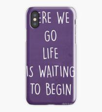 HERE WE GO... iPhone Case/Skin
