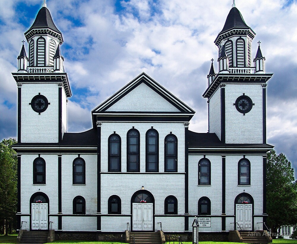 Churches of the French Shore (1) by Jann Ashworth