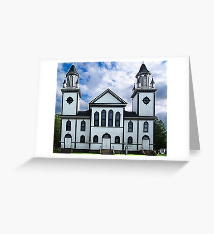 Churches of the French Shore (1) Greeting Card