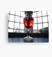 Single Wine Canvas Print