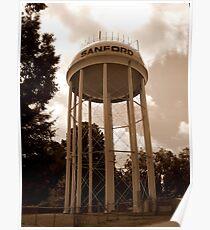 North Carolina Tower Poster