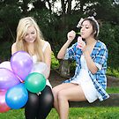 Bubbles and Balloons! by bambiisme