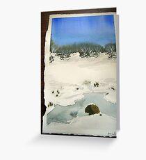 Lake Mountain Winter 2010 Greeting Card