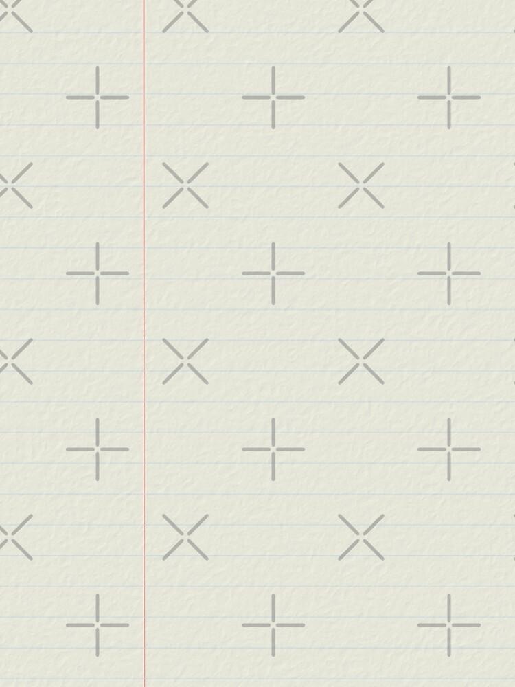 Notebookblatt grau von AliensRich