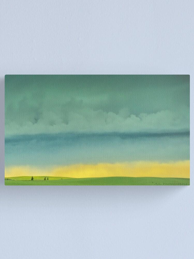 Alternate view of Alberta Fields Canvas Print
