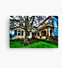 Haunted House 1 Canvas Print