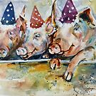 Let's Have a Piggy Party by twopoots