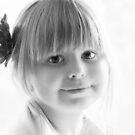 Portrait in Black And White von Evita