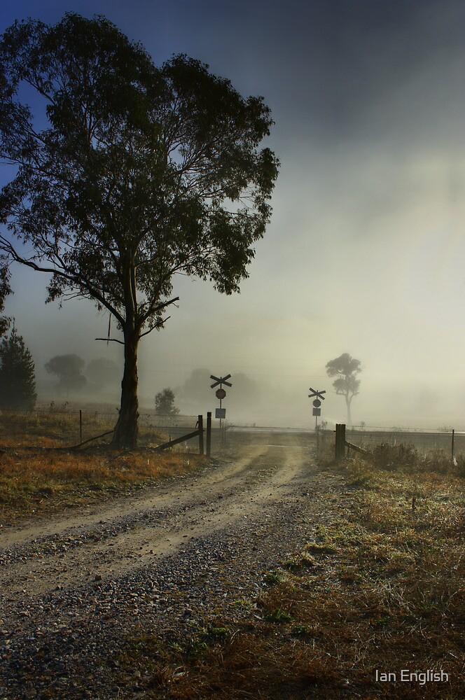 Foggy Crossing by Ian English