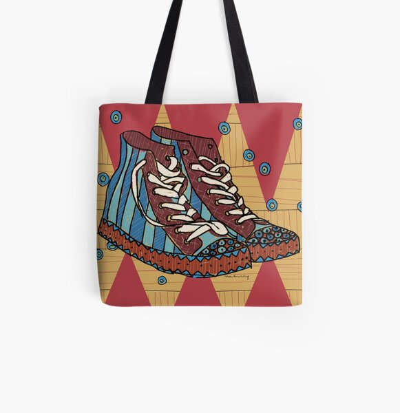 Funky shoes Allover-Print Tote Bag