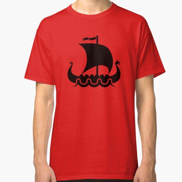 VIKING SHIP II HOODIE HOODED SWEATSHIRT Vikings Schiff Wikinger Boot Langschiff