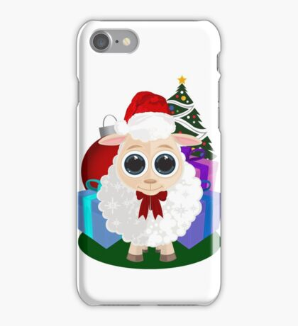 Christmas - Sheep iPhone Case/Skin
