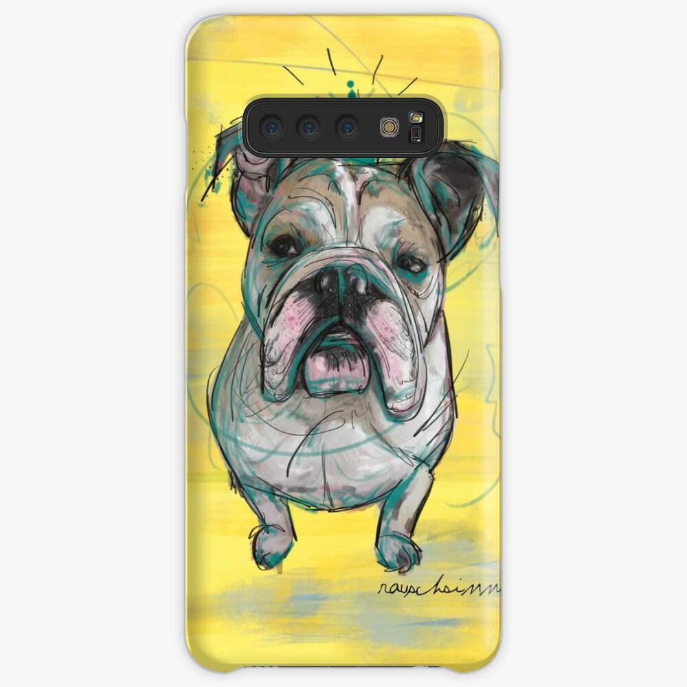 Bulldoggen Prinzessin Hüllen & Klebefolien für Samsung Galaxy