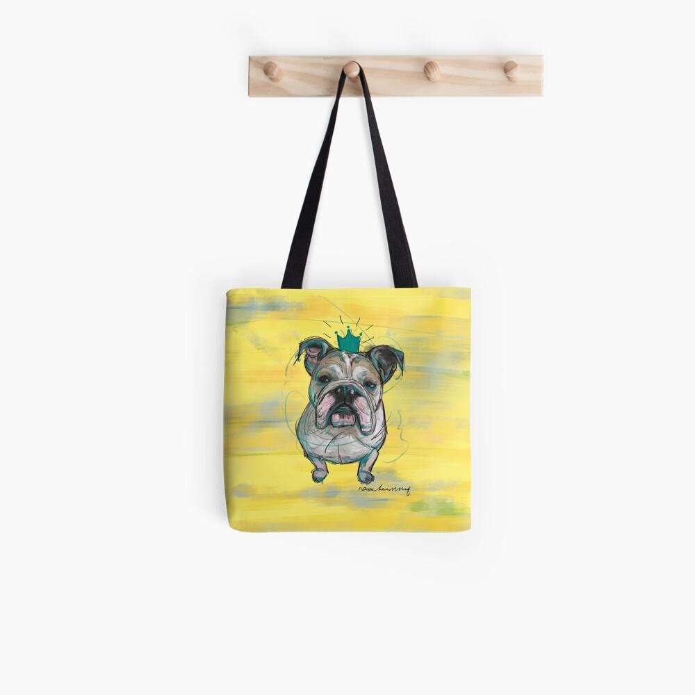 Bulldoggen Prinzessin Tote Bag