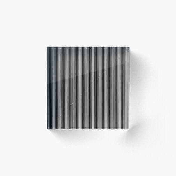 #Pattern, #design, #illustration, #abstract, shape, repetition, tile, tablecloth, paper, simplicity, geometric shape Acrylic Block