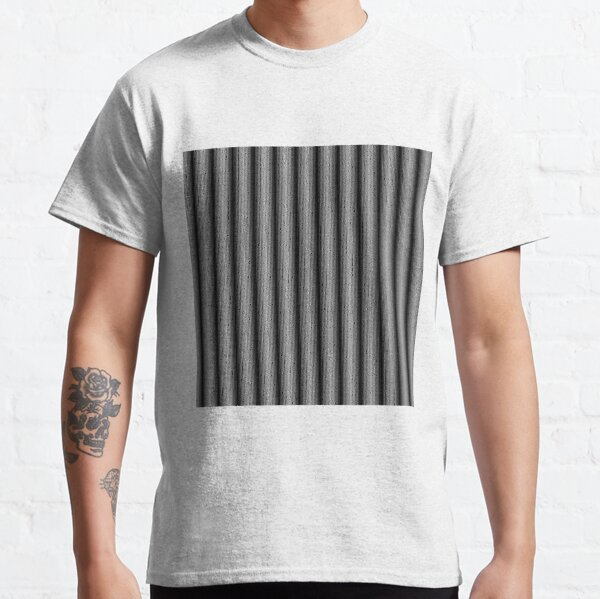 #Pattern, #design, #illustration, #abstract, shape, repetition, tile, tablecloth, paper, simplicity, geometric shape Classic T-Shirt