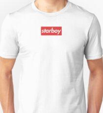 starboy - supreme logo style Slim Fit T-Shirt