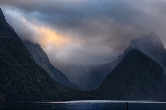Glacial Valley by Peter Hammer