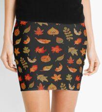 Minifalda Tristes hojas caídas