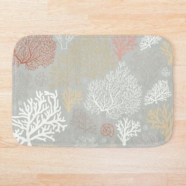 Ocean corals  Bath Mat