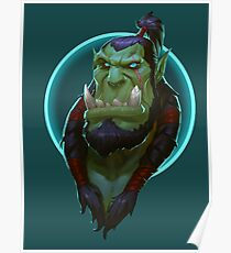 Thrall Portraits Artwork Poster