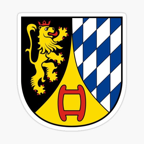 Coat of Arms of Weinheim, Germany Sticker