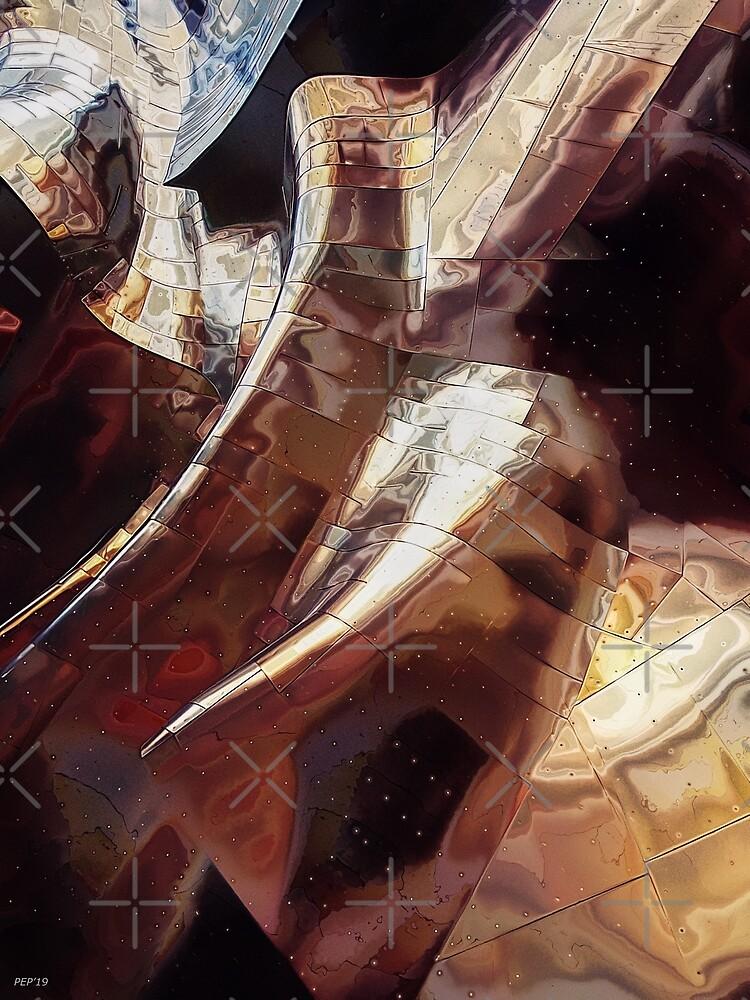 Sheet Metal In Space by Phil Perkins