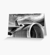 US Air Force KC-10 Extender Aircraft Greeting Card