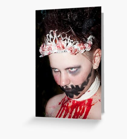 0744 Zombie Greeting Card