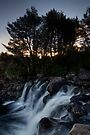 Plateau Waterfalls by Michael Treloar