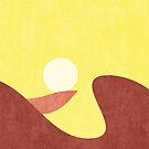 LANDSHAPES / Desert - Sunset by Daniel Coulmann