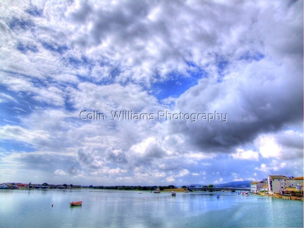 Moody Sky - Shoreham By Sea - West Sussex - HDR by Colin  Williams Photography