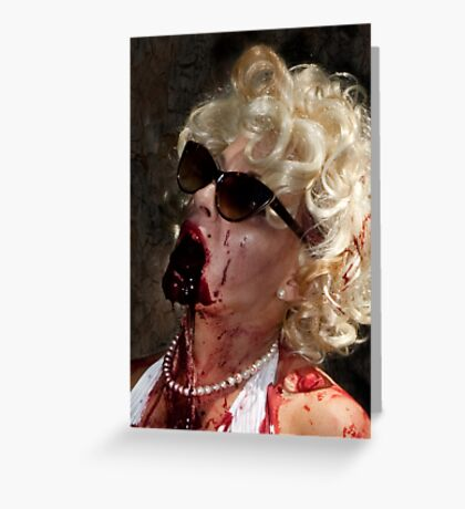 0770 Marilyn Greeting Card