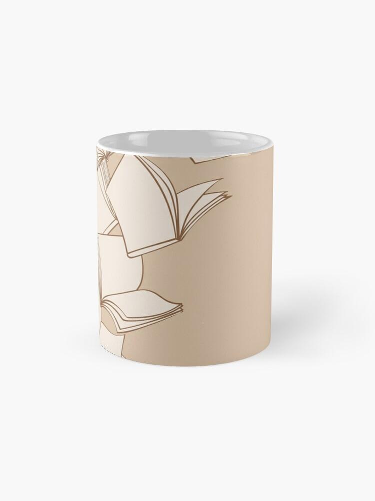 Alternate view of Books Mug