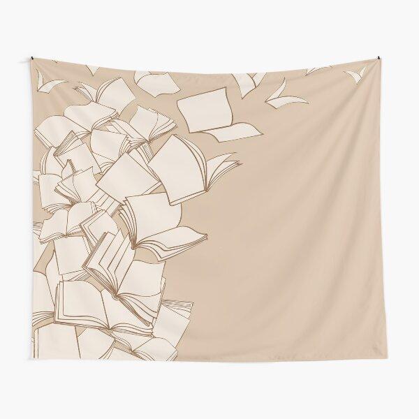 Bücher Wandbehang