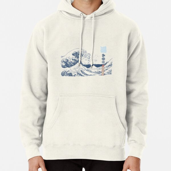 The Great Wave of Kanagawa Pullover Hoodie