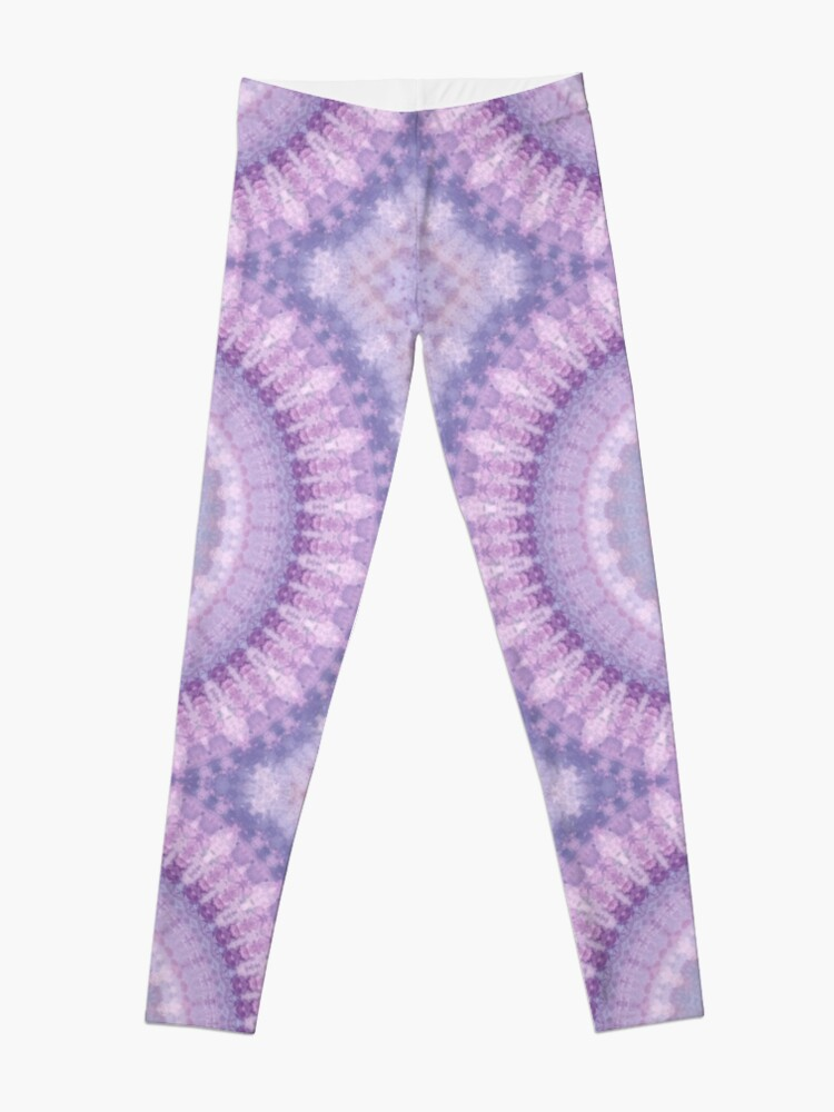 Alternate view of Lilac Kaleidoscope Leggings